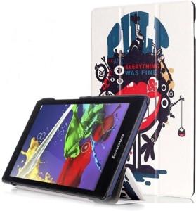 YAOJIN Book Cover for Lenovo Tab 3 8