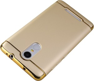 NSSTUFF Back Cover for Xiaomi Redmi Note 3 Ultra Thin and Slim Full Body Protective Anti Scratch & Anti-fingerprint Proof Hard Back Cover for Xiaomi Redmi Note 3 ( Gold with Gold Color)