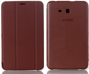 timeless design fc51a 90254 SPL Book Cover for Samsung Galaxy Tab 3 V T116Brown