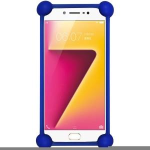 Casotec Bumper Case for Vivo V5 PlusDark Blue
