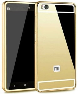 DEV Bumper Case for Luxury Mirror back case with side bumper for Xiaomi Mi 4iGold