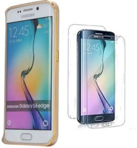 new style cc3e0 19909 Easo India Bumper Case for SAMSUNG Galaxy S6 EdgeGold