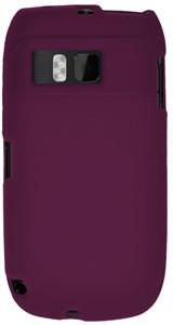Amzer Back Cover for Nokia E6-00Purple, Grip Case