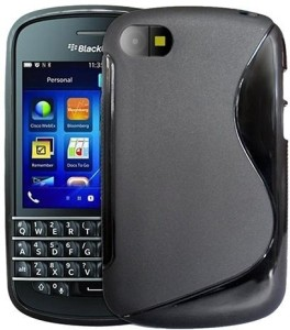 new style 377e9 75835 S-Line Back Cover for Blackberry Q10Grip Case