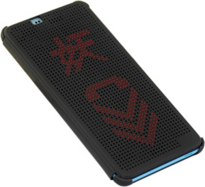 newest 3ce01 3d24f New Breed Back Cover for HTC One X9Matte Black, Dot View
