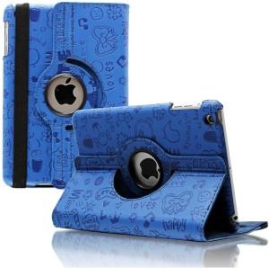 Kolorfish Flip Cover for Apple iPad Case, IFUNAIRDARKBLUE