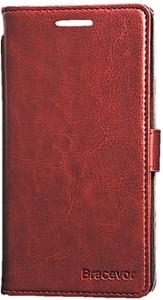 Bracevor Wallet Case Cover for OnePlus One, one plus one