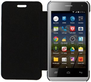 YuniKase Flip Cover for Micromax Bolt Q324