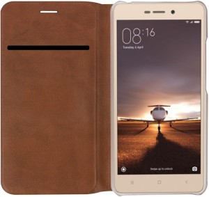 CareFone Flip Cover for Mi Redmi 3S Prime