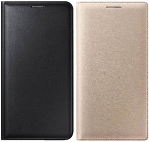 brand new c36ce 6b07e COVERNEW Flip Cover for Samsung Galaxy On5 Pro, Samsung Galaxy On 5  ProBlack, Golden