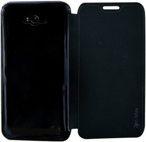 new product e34ad 89f5c Coverage Flip Cover for Asus Zenfone Max ZC550KLBlack