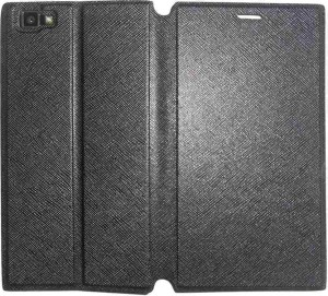 100% authentic 4be80 69ee5 Mercator Flip Cover for Xolo Black 1xLeather Black