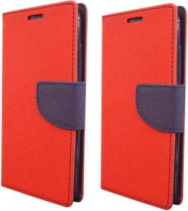 detailed look 6c37f 873d6 Coverage Flip Cover for Samsung Galaxy ON5 Pro, Samsung Galaxy ON 5 ProRed,  Red