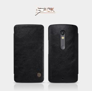 best service 2c582 8de70 Nilkin Flip Cover for Motorola Moto X Playblack