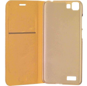 low priced 6302f 9e79f VJS Flip Cover for Vivo Y27LGold