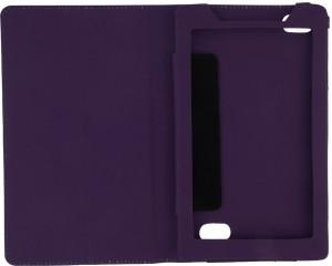 buy popular 0360e fd4dc Colorcase Flip Cover for Micromax Canvas Tab P702Purple
