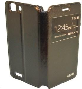wholesale dealer da8f8 54901 SmartLike Flip Cover for Vivo Y11Black