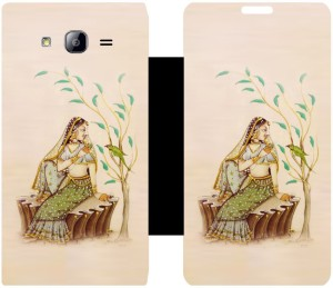 Skintice Flip Cover for SAMSUNG Galaxy On7