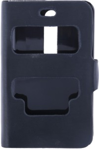 sale retailer f2782 05953 Iway Flip Cover for Nokia Asha 501Black