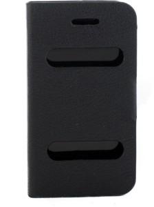 Mystry Box Flip Cover for Lava Xolo Q700 Black available at Flipkart for Rs.329
