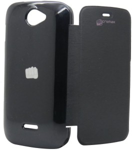 MOBLUS Flip Cover for Micromax A47 Bolt Black available at Flipkart for Rs.175