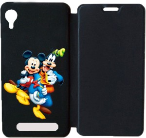 check out cb4f9 6f0f3 BuyFeb Flip Cover for Gionee Pioneer P5LPrinted Flip