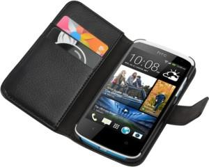 Cubix Flip Cover for HTC Desire 500