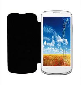 new concept 9f31d 5b756 RDcase Flip Cover for XOLO Q600Black
