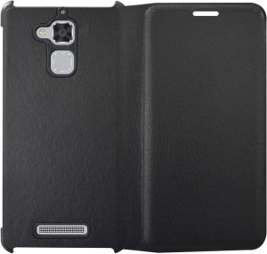 finest selection 61553 4b059 COVERNEW Flip Cover for Asus Zenfone 3 Max ZC520TL (5.2 Inches)Black