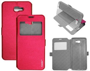Casotec Flip Cover for SAMSUNG Galaxy J7 Prime