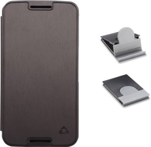 best service e9352 15271 Stuffcool Flip Cover for Motorola Nexus 6Black