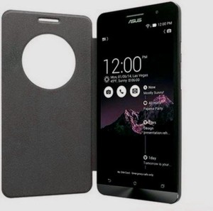 buy online 10ee9 1d14e Aspir Flip Cover for Asus Zenfone 2 Laser ZE550KLBlack
