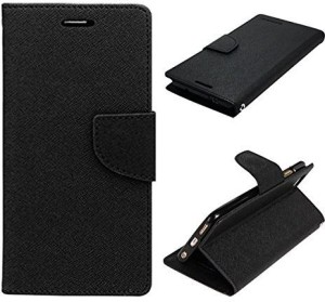 san francisco 20c7e d637c MKR Flip Cover for Samsung Galaxy On7 Pro New EditionBlack
