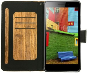 cheap for discount 95280 b8bf0 Colorcase Flip Cover for Lenovo Phab (PB1-750M) (6.98)Brown