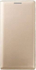 Helix Flip Cover for Reliance Jio LYF Water 7 GOLD (LS-5504)