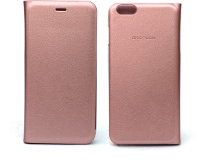 Fashion Flip Cover For Apple Iphone 6 Plus 6s Plus Rose Gold Best