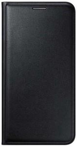 timeless design a5a92 4fb7d Finaux Flip Cover for Micromax Bolt Q327Black