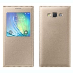 new styles 83d09 12399 Kolormax Flip Cover for Samsung Galaxy On5 ProGolden