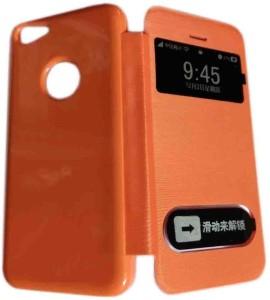 sale retailer aa3b8 cb3a3 Kelpuj Flip Cover for Apple Iphone 5cOrange