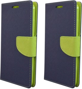 new styles b1295 732a5 Coverage Flip Cover for Samsung Galaxy On7 Pro, Samsung Galaxy On 7  ProBlue:Blue