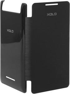official photos b58dc 4ade4 CaseCart Flip Cover for XOLO A500SBlack