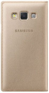 new arrival c5f7c 0f63a Foneys Flip Cover for Samsung Galaxy J3 - 6 (New 2016 Edition)Gold
