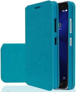 premium selection 1cf21 a57d6 Stylabs Flip Cover for Asus Zenfone 3 ZE552KL (5.5Inch)Arctic Blue