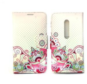 Fashion Flip Cover for Motorola Moto X Play