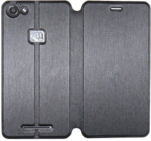 innovative design 21a9a 87d96 SellNxt Flip Cover for Micromax Canvas Spark 2 Plus Q350Grey