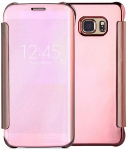 TGK Flip Cover for SAMSUNG Galaxy S7 Edge Rose Gold Best Price in ... 5dbaa3465dfc