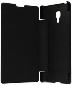 best service f61f8 31289 Aspir Flip Cover for Lava Iris X10Black