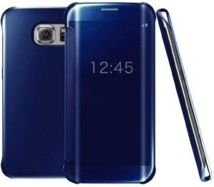 purchase cheap 579d0 e94e7 Style Clues Flip Cover for SAMSUNG Galaxy S7 EdgeBlue