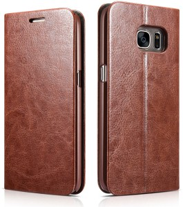 sneakers for cheap cb5a9 fc316 techstudio Flip Cover for SAMSUNG Galaxy S7 EdgeBrown