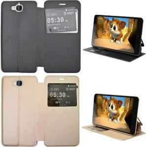 COVERNEW Flip Cover for Honor Holly 2 Plus